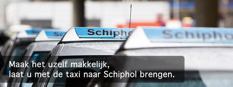 Schipholtaxi vanuit Nijmegen